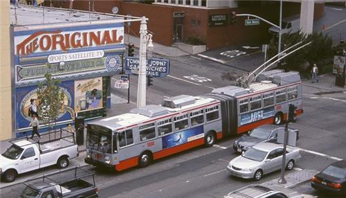 San Francisco Muni Trolleybus
